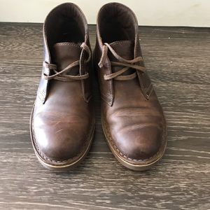 Women's Brown ankle boots Clarks